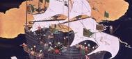 Paravents nanban : l'arrivée des Européens au Japon